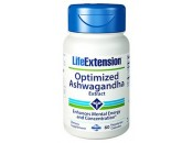 Optimized Ashwagandha Extracto (libre de estimulantes) 60 cápsulas LIFEEXTENSION
