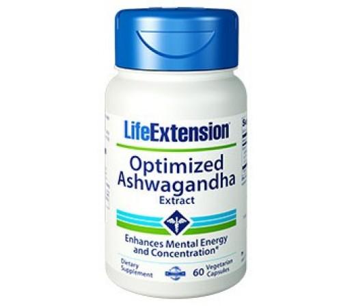 Optimized Ashwagandha Extracto (libre de estimulantes) 60 cápsulas LIFEEXTENSION