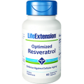 Resveratrol Optimized con Quercitina, Pterostibene y Fisetina 60 cápsulas LIFEEXTENSION
