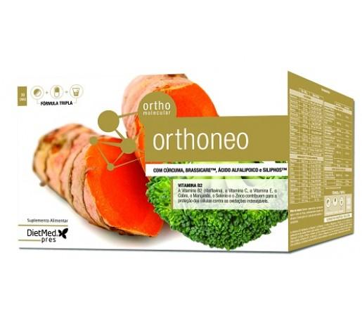 Orthoneo, Cúrcuma, Brassicare, Alfalipoico, Siliphos... 30 dias DIETMED