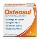 Osteosul Cartilago de Tiburón, Colágeno tipo II, Condroitin, Acido Hialurónico 60 comprimidos NATYSAL en Herbonatura.es