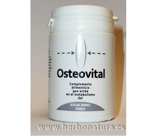 Osteovital Micronutrición Huesos Oligoelementos, Algas, Vitaminas... 60 cápsulas INTERNATURE