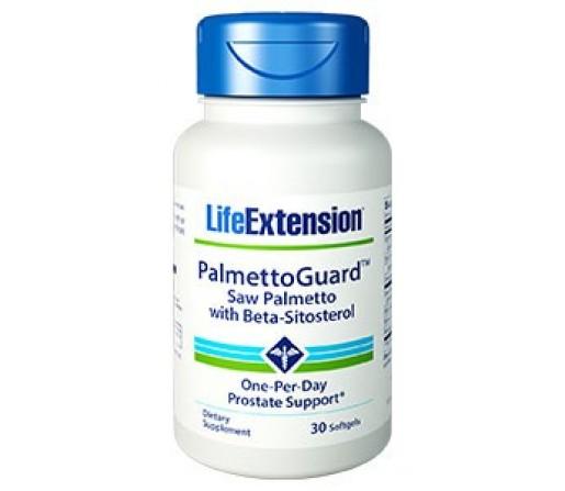 Palmettoguard Saw Palmetto con Sitosterol 30 perlas LIFEEXTENSION