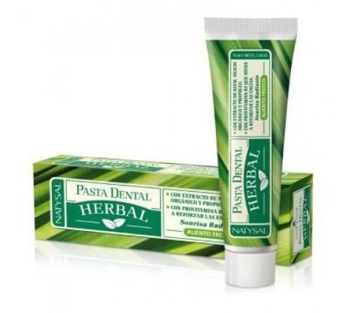 Dentífrico, Pasta Dental Herbal 75ml. NATYSAL