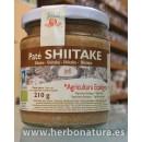 Paté de Shiitake Ecológico VEGETALIA 210gr. en Herbonatura.es