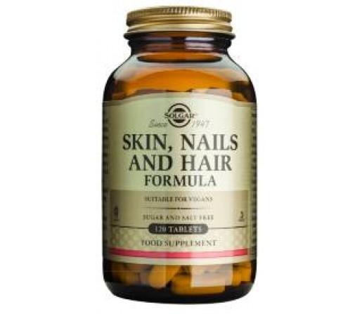 Pelo, Piel, Uñas, Skin Nails and Hair Formula 120 comprimidos SOLGAR
