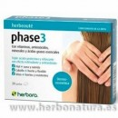 Phase 3 cabello, piel y uñas 30 cápsulas HERBORA