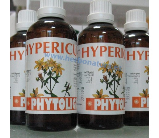 Phytoligo Hypericum, Hipérico Oligoelemento 100ml. ARTESANIA AGRICOLA