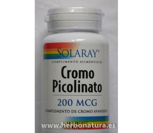 Picolinato de Cromo 50 comprimidos SOLARAY