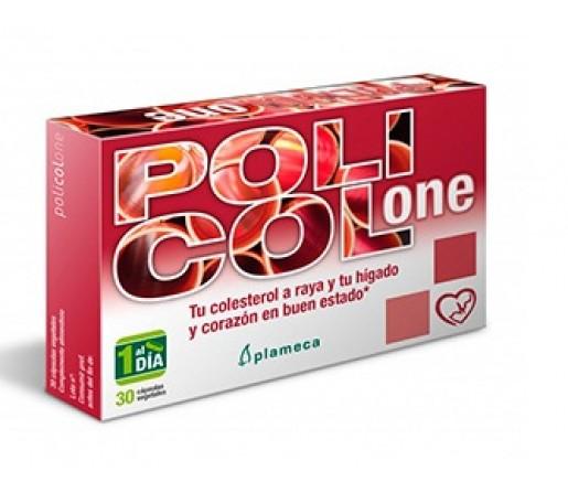 Policol One Arroz Rojo Fermentado Colesterol y Hepático 30 cápsulas PLAMECA