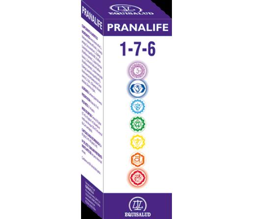 Pranalife 1-7-6 Armonizador de los Chacras 1-7-6. 50ml. EQUISALUD