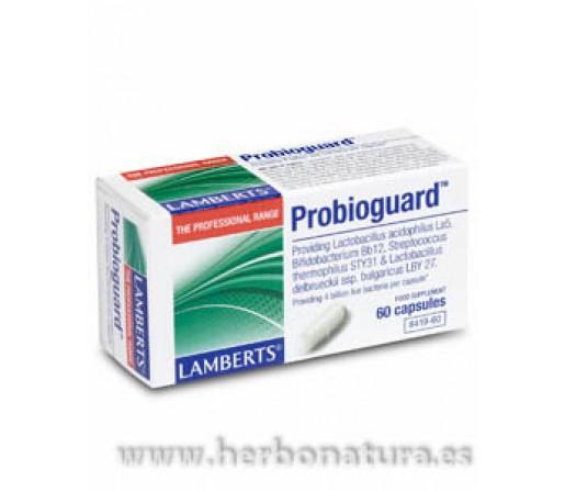 Probioguard 4 cepas de prebióticos 60 cápsulas LAMBERTS
