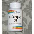 Vitamina B-Complex 50 50 cápsulas SOLARAY