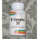 Vitamina B-Complex 50 50 cápsulas SOLARAY en Herbonatura.es