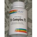 Vitamina B-Complex 75 100 cápsulas Liberación sostenida SOLARAY en Herbonatura.es