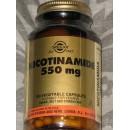 Nicotinamida 550mg 100 capsulas vegetales en Herbonatura.es