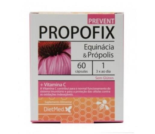 Propofix Prevent, Equinácea, Própolis, Defensas 60 cápsulas DIETMED