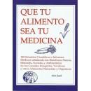 Que tu Alimento Sea tu Medicina Libro, Alex Jack GEA PUBLICACIONES en Herbonatura.es