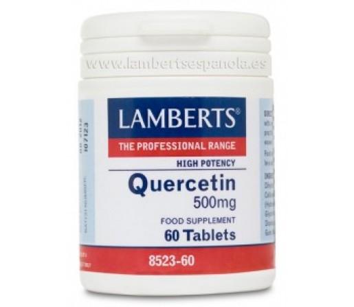 Quercitina 500mg. Alta Potencia 60 comprimidos LAMBERTS
