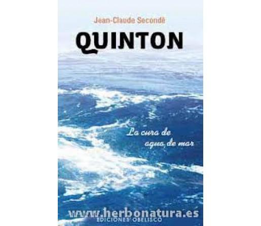 Quinton, La cura de agua de mar Libro, Jean-Claude Secondé OBELISCO