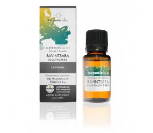 Aceite Esencial Ravintsara (Alcanforero) Ecológico (Cinnamomum camphora QT cineol) 30ml. TERPENIC LABS
