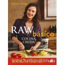 Raw Básico Cocina Cruda Libro, Jenny Ross GAIA en Herbonatura.es