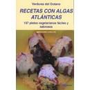 Recetas con Algas Atlánticas, 107 platos vegetarianos fáciles y sabrosos Libro, Maria Niubó Caselles ALGAMAR en Herbonatura.es