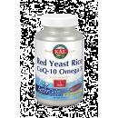 Red Yeast Rice, Coenzima Q10 y Omega 3, 60 perlas Solaray KAL en Herbonatura.es