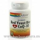 Red Yeast Rice Plus CoQ10 60 cápsulas vegetales SOLARAY en Herbonatura.es