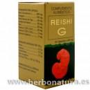 Reishi G con Astrágalus, Selenio, Germanio 60 cápsulas GOLDEN & GREEN en Herbonatura.es