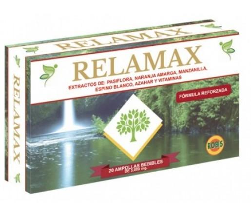 Relamax Pasiflora, Naranja Amarga, Manzanilla, Azahar... 20 ampollas ROBIS