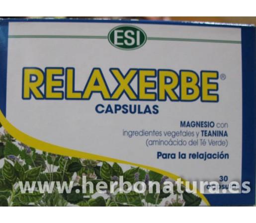 Relaxerbe para la relajación 30 cápsulas ESI