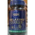 Relaxine Premium Alta Potencia (Relajante) 60 comprimidos GSN