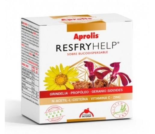 Resfryhelp Aprolis, Grindelia, Propóleo, Geranio, Zinc... 15 sobres INTERSA