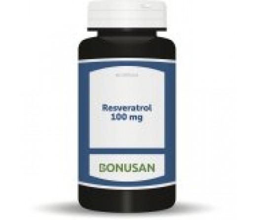 Resveratrol (Polygonum cuspidatum) 100mg. Antioxidante 60 cápsulas BONUSAN