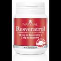 Resveratrol con Bioperine Antioxidante, 60 cápsulas NATYSAL