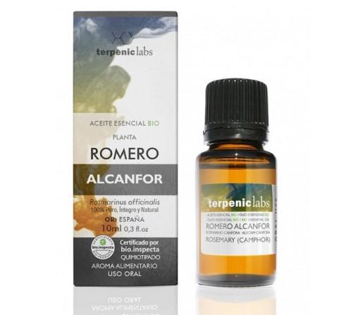 Aceite Esencial Romero Alcanfor Biológico (Rosmarinus officinalis) 10ml. TERPENICS LABS