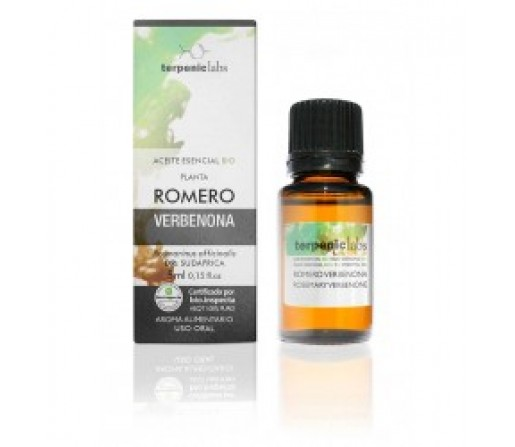 Aceite Esencial Romero Verbenona Biológico (Rosmarinus officinalis) 5ml. TERPENICS LABS