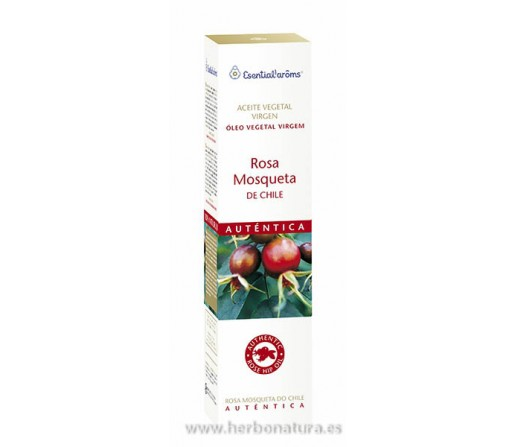 Aceite Vegetal Virgen de Rosa Mosqueta de Chile - Esential'arôms - 50 ml INTERSA