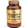 Rose Hips C Vitamina C con escaramujo 1500 mg 90 Comprimidos SOLGAR