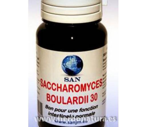 Saccharomyces Boulardii (cepa tropical de levadura aislada) 30 cápsulas. SAN