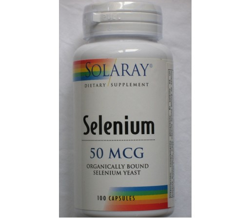 Selenio Selenium 100 cápsulas vegetales SOLARAY