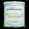 Semillas de Cañamo Peladas Biológicas Proteína, Aminoácidos y Omega 3-6-9, 200gr. DRASANVI