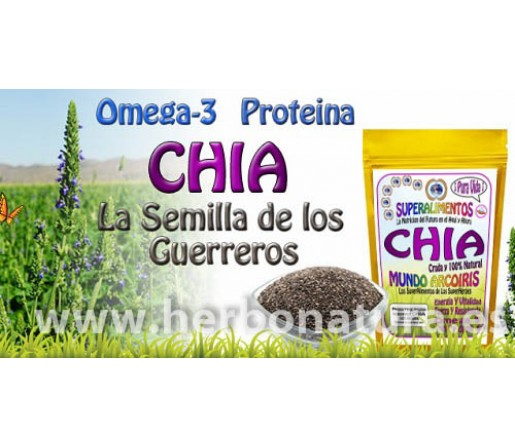 Chia Semillas Bolivia Cruda y Ecologica 100% Natural 1Kg. SUPERALIMENTOS