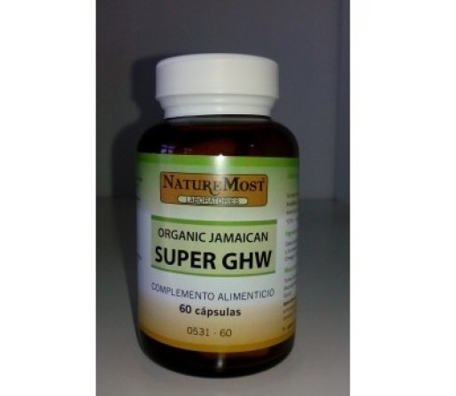 Super GHW Organic Jamaican 60 cápsulas NATURE MOST