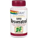 Super Resveratrol Potencia Garantizada 30 cápsulas SOLARAY en Herbonatura.es