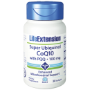 Super Ubiquinol, coenzima Q10 con PQQ y Shilajit 30 perlas LIFEEXTENSION