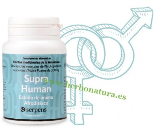 Supra Human, Muira Puama y Ptychopetalum 90 cápsulas SERPENS