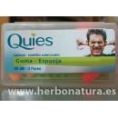 Tapones Quies Goma- Esponja 35dB. 3Pares en Herbonatura.es