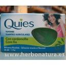 Tapones Quies de Silicona Flexible con Cordoncillo 1 par QUIES. en Herbonatura.es